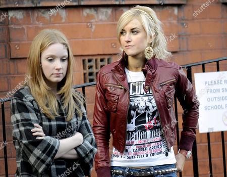 Stock Photo of Julia Howarth and Katherine Kelly