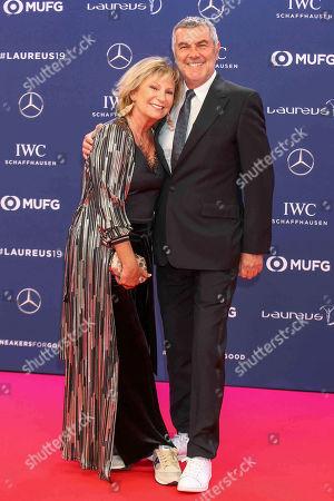 Sabine Christiansen, husband, Norbert Medus