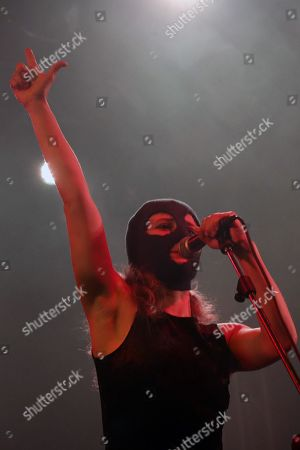 Editorial photo of Pussy Riot in concert at Estragon, Bologna, Italy - 17 Feb 2019