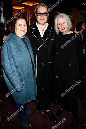 Suzy Menkes, David Downton and Betty Jackson