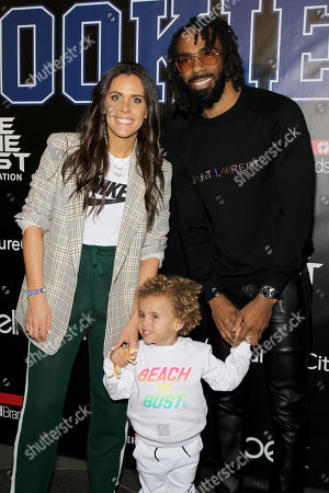 Stock Photo of Mike Conley with Family