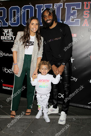 Stock Image of Mike Conley with Family