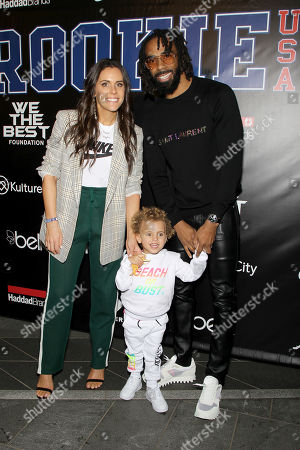 Mike Conley with Family
