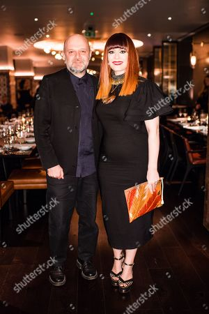 Editorial image of Hussein Chalayan 25th Anniversary Dinner, Ruya, London, UK - 18 Feb 2019