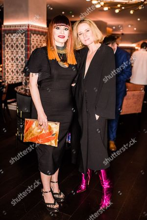Editorial photo of Hussein Chalayan 25th Anniversary Dinner, Ruya, London, UK - 18 Feb 2019