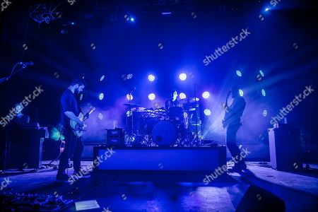 Editorial picture of White Lies in concert at O2 Forum Kentish Town, London, UK - 14 Feb 2019