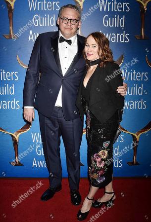 Stock Photo of Adam McKay and Shira Piven