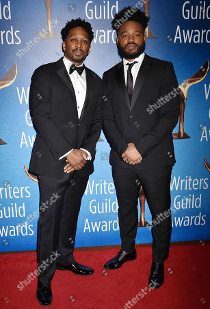 Stock Picture of Joe Robert Cole and Ryan Coogler