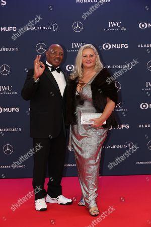 Marvin Hagler, wife, Kay Guarrera