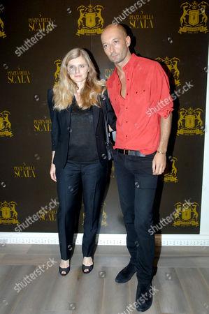 Beatrice Trussardi and Milan Vukmirovic