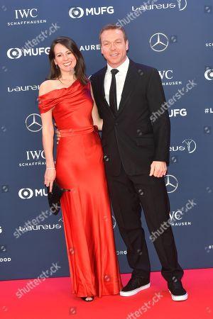 Chris Hoy and Frau Sarra Hoy