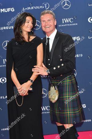 Coulthard David and Freundin Karen Minier