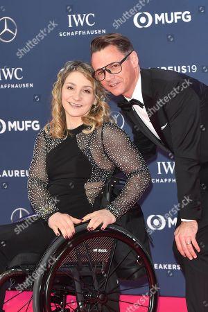 Kristina Vogel and Freund Michael Seidenbecher