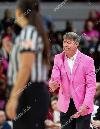 North Carolina State Head Coach Wes Moore reacts to a call during the second half of an NCAA college basketball game against Notre Dame in Raleigh, N.C