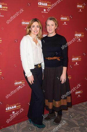 Julie Gayet and Nadia Turincev