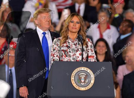 Editorial image of Donald Trump rally, Miami, USA - 18 Feb 2019