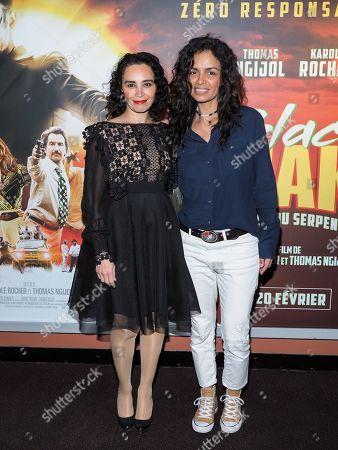 Stock Photo of Aida Touihri and Laurence Roustandjee