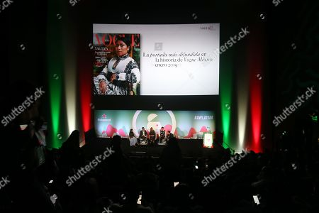 Editorial photo of How is Luxury Communication Reinvented? seminar, Heineken Stage, Advertising Week Latin America, Papalote Museo del Nino, Mexico City, Mexico - 19 Feb 2019