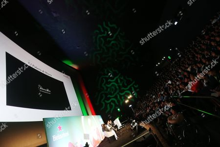 Editorial picture of How is Luxury Communication Reinvented? seminar, Heineken Stage, Advertising Week Latin America, Papalote Museo del Nino, Mexico City, Mexico - 19 Feb 2019