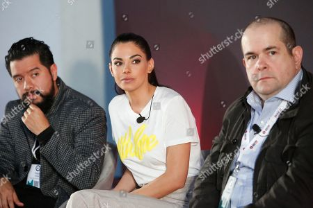 Diego Ortiz (Director & Executive, Rolling Stone Latin America Magazine), Livia Brito (Actress), Sergio Pizzolante (Film & TV Executive Producer & Agent)
