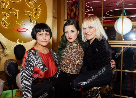 Gabrielle Djanogly, Adele Mildred and Virginia Bates
