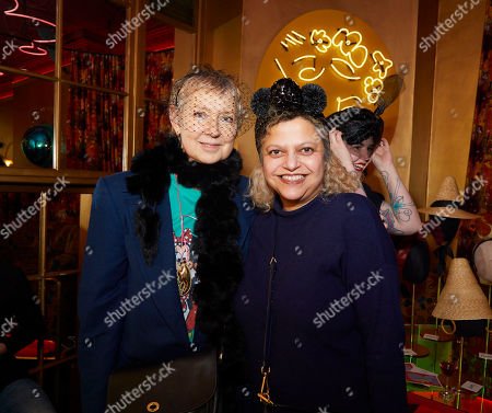 Stock Picture of Sarah Staton and Tanya Ling