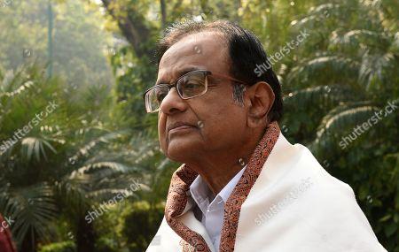 Congress leader P. Chidambaram