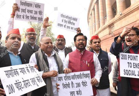 Editorial photo of Parliament Budget Session, New Delhi, India - 06 Feb 2019