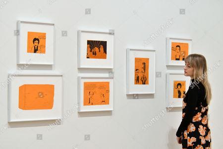 Untitled (Serie Das Kritische Blatt) 1975 by Franz West at Tate Modern