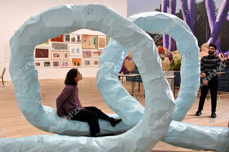 Schlieren 2010 by Franz West at Tate Modern