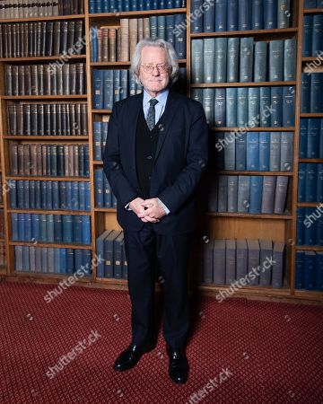 Editorial photo of AC Grayling at Oxford Union, UK - 02 Feb 2019