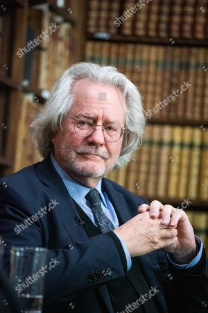 Editorial picture of AC Grayling at Oxford Union, UK - 02 Feb 2019