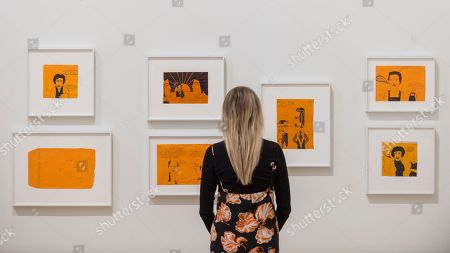 Editorial image of Franz West exhibition at Tate Modern, London, UK - 19 Feb 2019