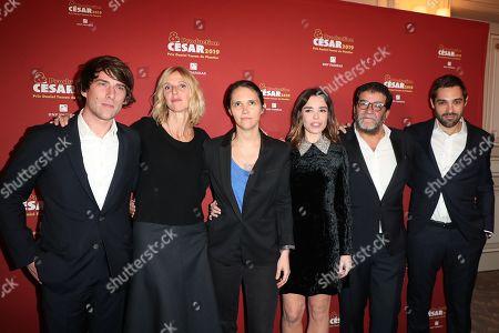 Stock Photo of Hugo Selignac, Sandrine Kiberlain, Jeanne Herry, Elodie Boucher, Alain Attal, Guest