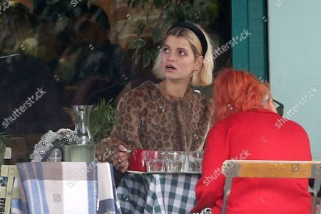 Pixie Geldof out and about, London