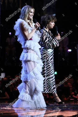 Suki Waterhouse and Annie Mac