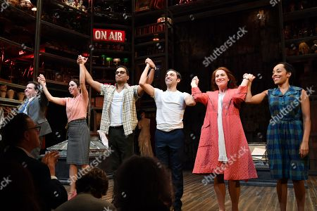 Editorial picture of 'Merrily We Roll Along' Musical Opening Night, New York, USA - 19 Feb 2019