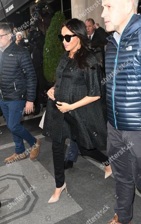 Meghan Duchess of Sussex Baby Shower, New York