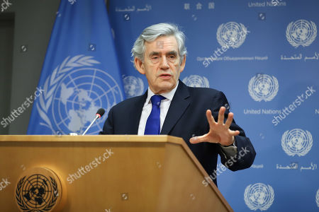 Special envoy for global education press conference, New York