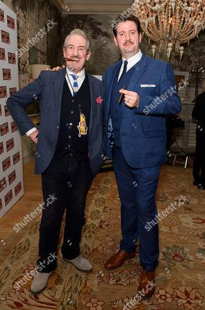 Jeff Nicholson and John Challis