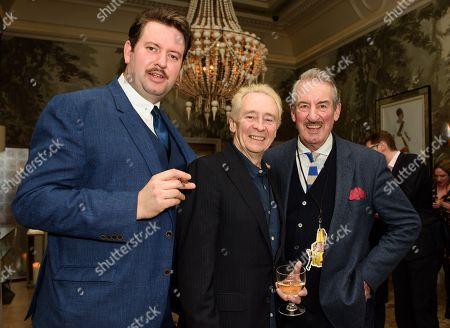 Jeff Nicholson, Paul Whitehouse and John Challis