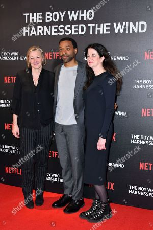 Editorial picture of 'The Boy Who Harnessed The Wind' film screening, London, UK - 19 Feb 2019