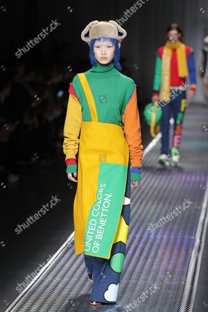 United Colors of Benetton show, Runway, Milan Fashion Week