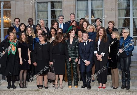 Editorial picture of Gender Equality Avisory Council Inagural Meeting, Paris, France - 19 Feb 2019