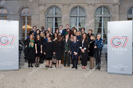 Editorial photo of Gender Equality Avisory Council Inagural Meeting, Paris, France - 19 Feb 2019