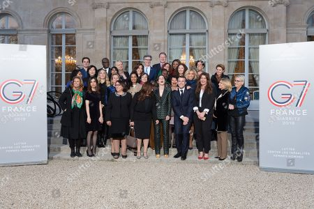 Editorial image of Gender Equality Avisory Council Inagural Meeting, Paris, France - 19 Feb 2019