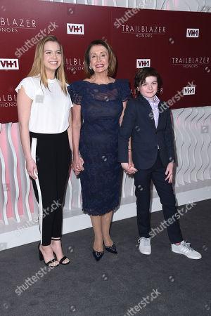 Madeline Prowda, Nancy Pelosi and Thomas Vos