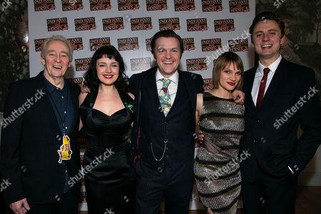Paul Whitehouse (Author/Grandad), Dianne Pilkington (Raquel), Tom Bennett (Del Boy), Pippa Duffy (Cassandra) and Ryan Hutton (Rodney)