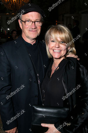 Stock Photo of Harry Enfield and Caroline Jay Ranger (Director)