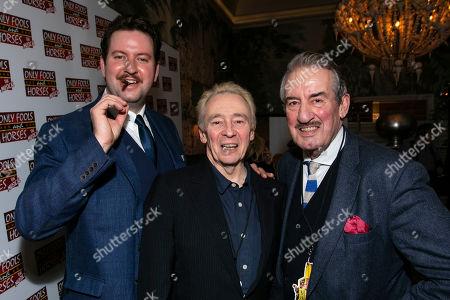 Jeff Nicholson (Boycie), Paul Whitehouse (Author/Grandad) and John Challis